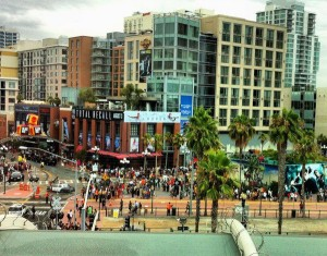 San Diego's Gaslamp District during SDCC